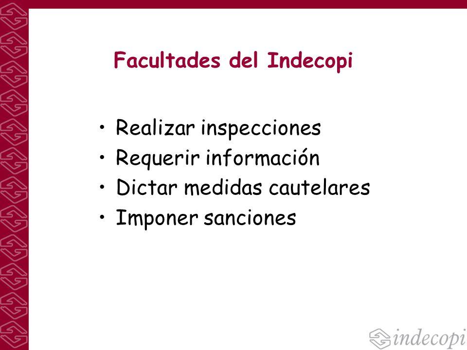 Facultades del Indecopi