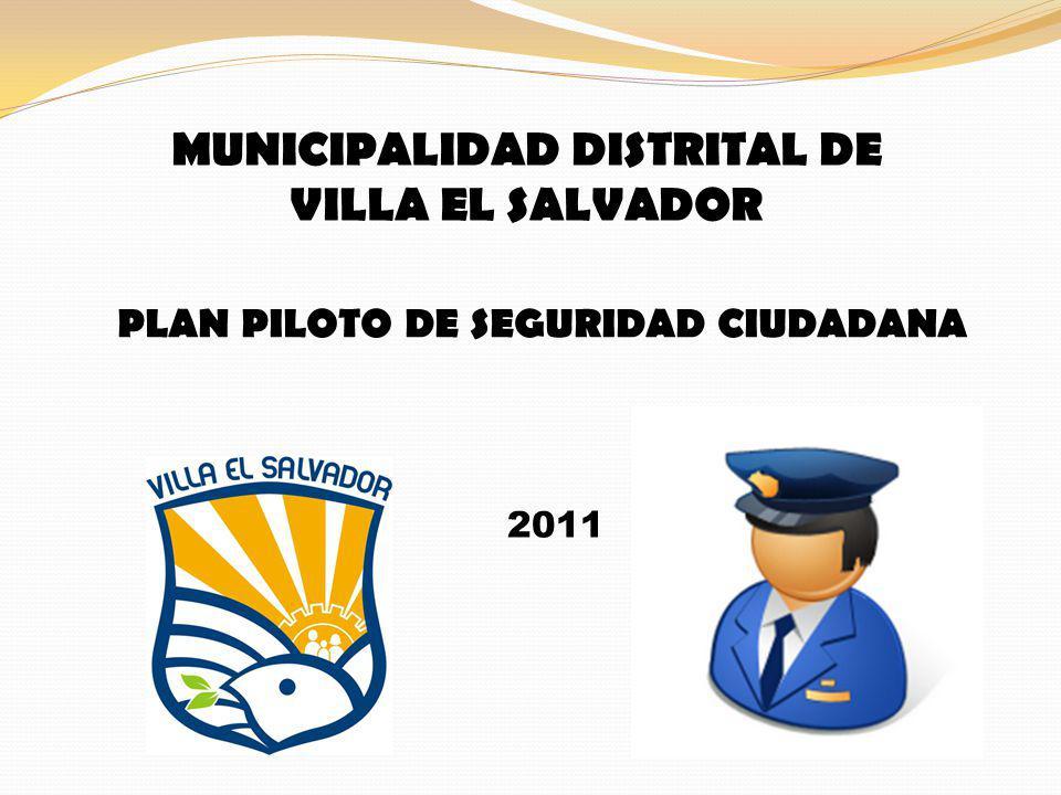 MUNICIPALIDAD DISTRITAL DE VILLA EL SALVADOR