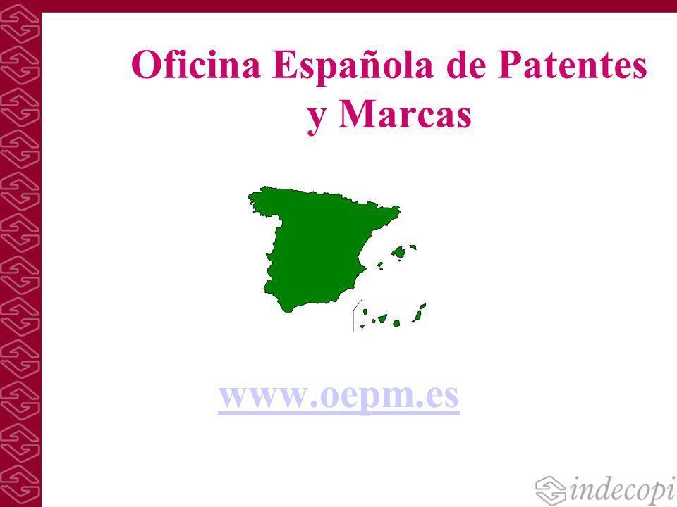 B squedas de patentes en bases de datos de acceso gratuito for Oficina patentes y marcas