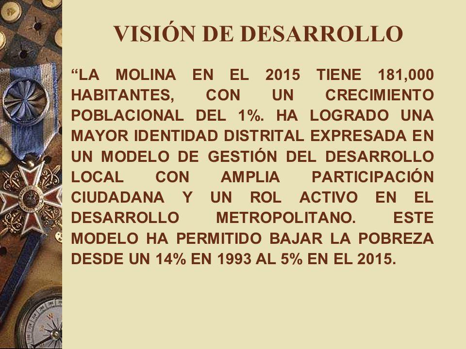 VISIÓN DE DESARROLLO