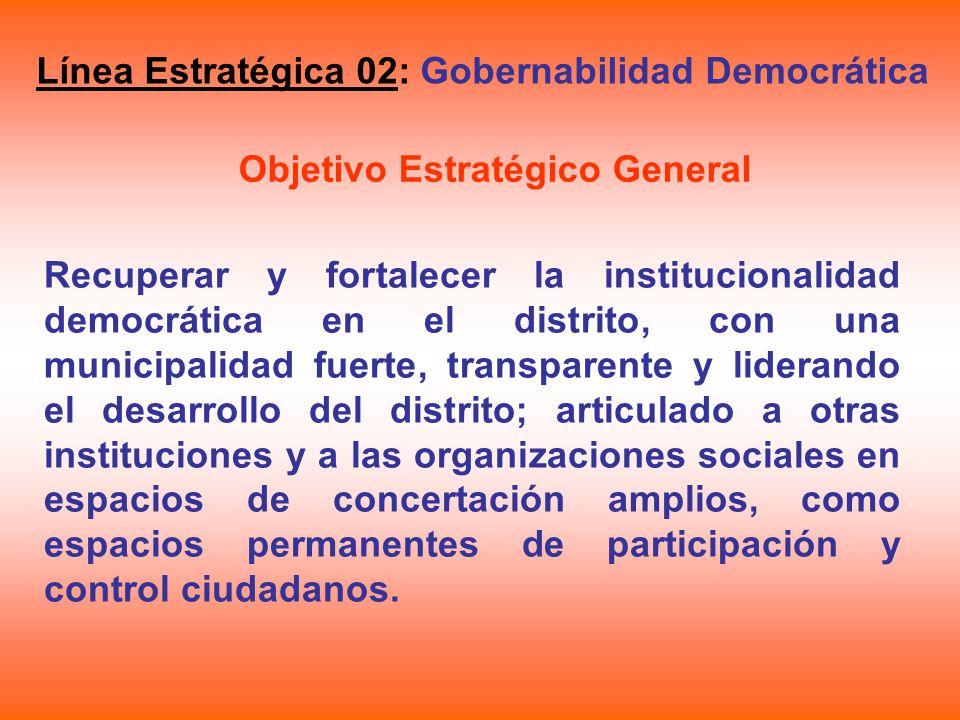 Objetivo Estratégico General