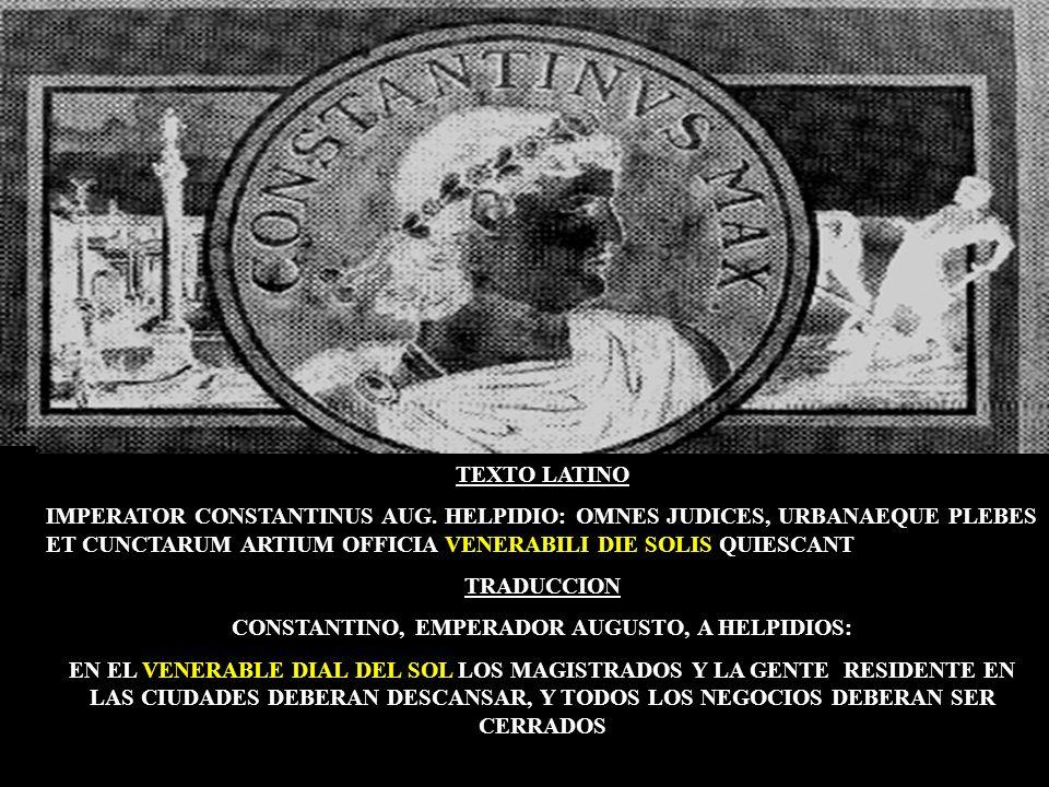 CONSTANTINO, EMPERADOR AUGUSTO, A HELPIDIOS: