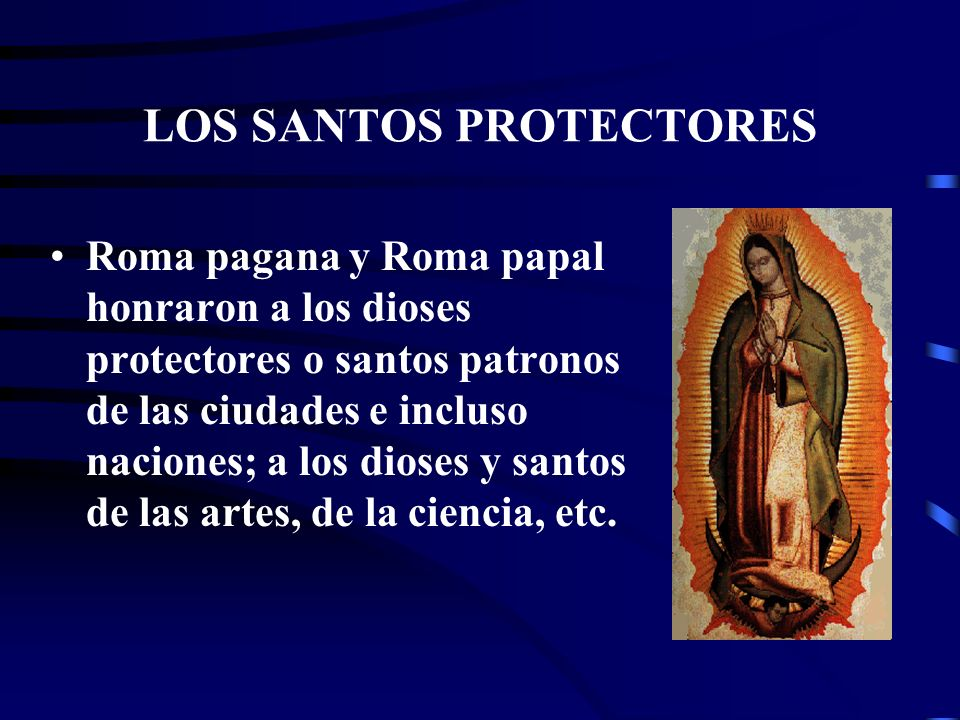 LOS SANTOS PROTECTORES