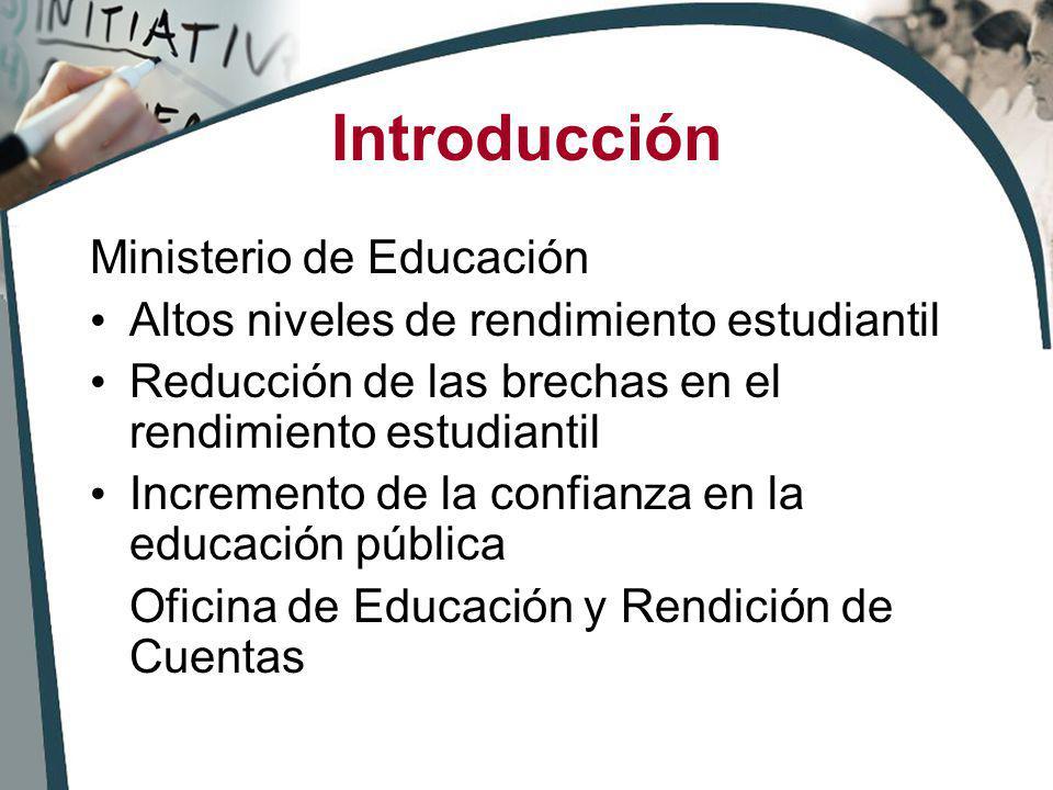 Introducción Ministerio de Educación
