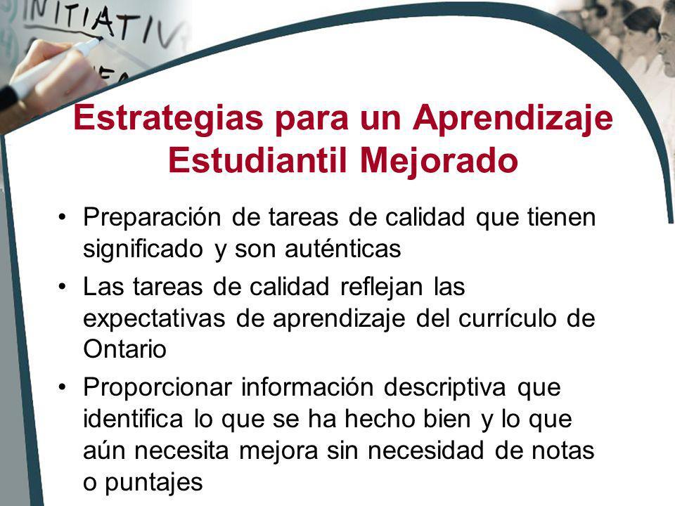 Estrategias para un Aprendizaje Estudiantil Mejorado