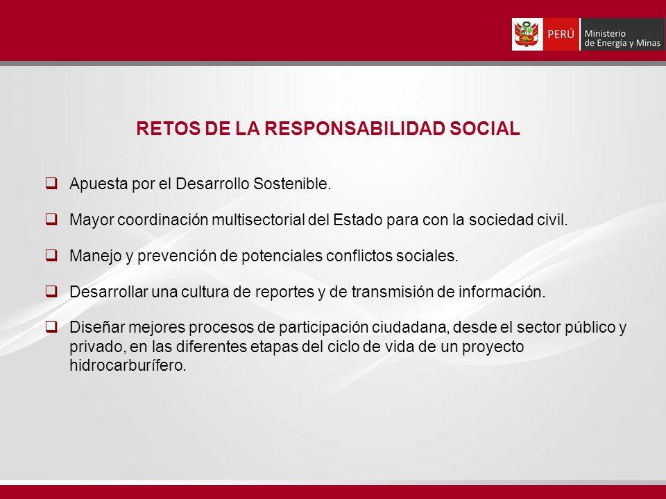 RETOS DE LA RESPONSABILIDAD SOCIAL