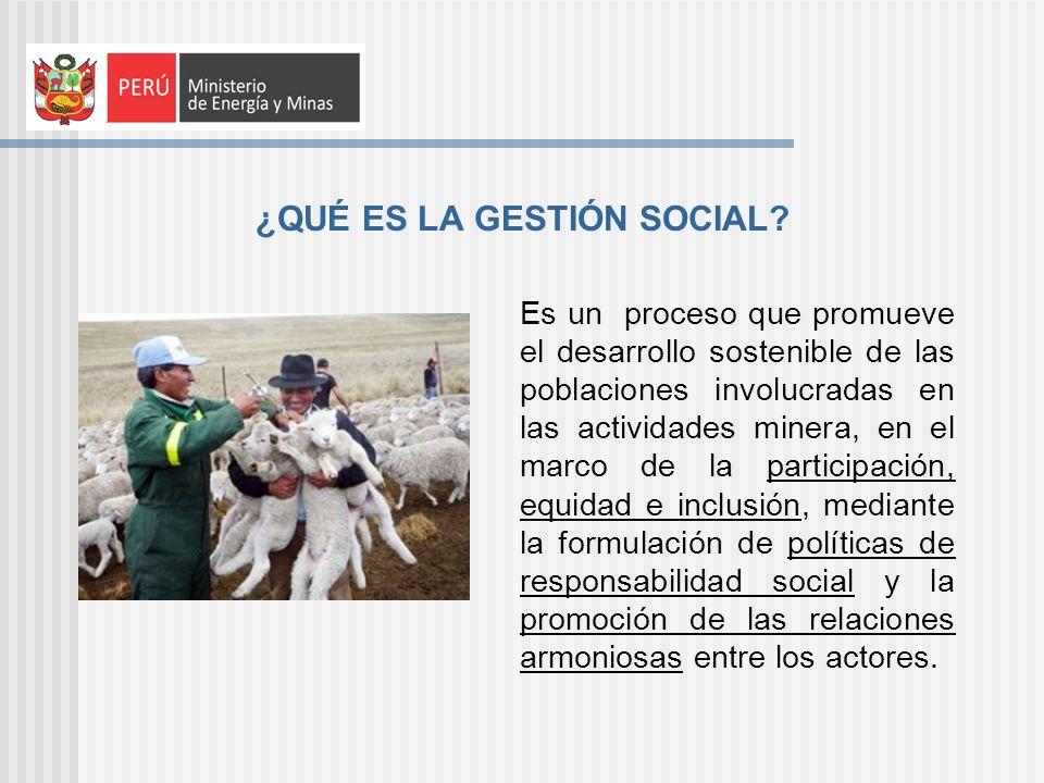 ¿QUÉ ES LA GESTIÓN SOCIAL