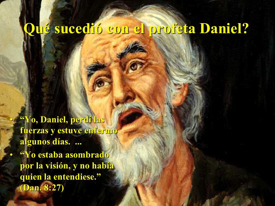 Qué sucedió con el profeta Daniel