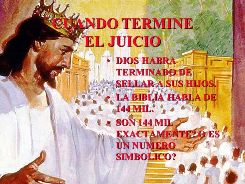 CUANDO TERMINE EL JUICIO
