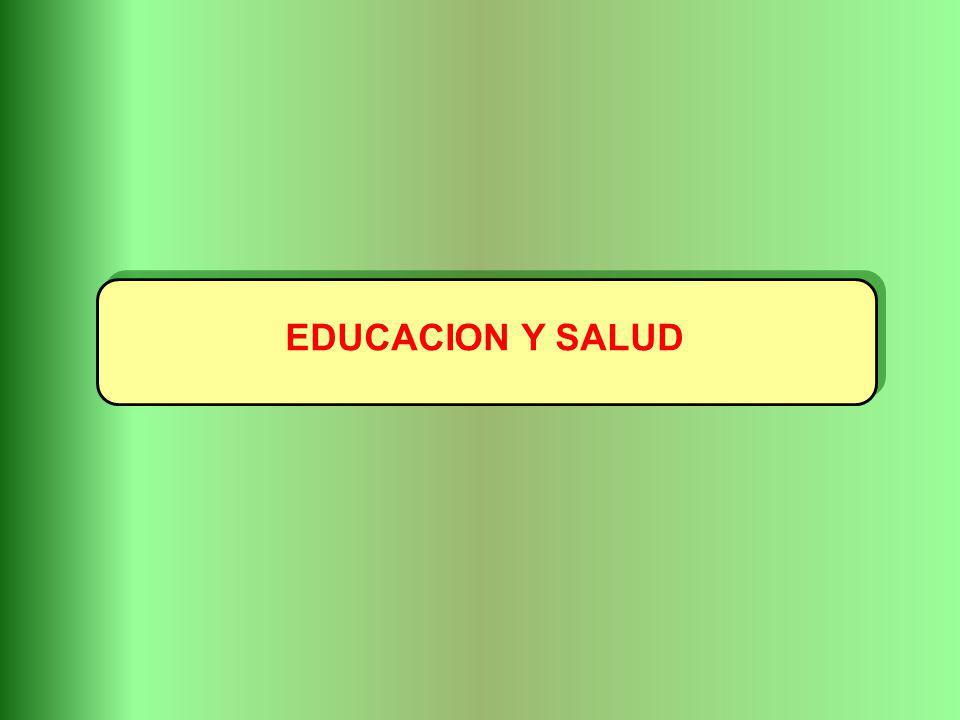 EDUCACION Y SALUD