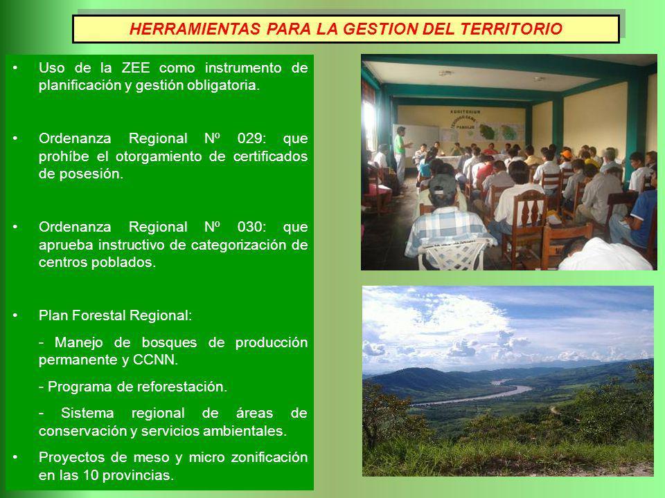 HERRAMIENTAS PARA LA GESTION DEL TERRITORIO