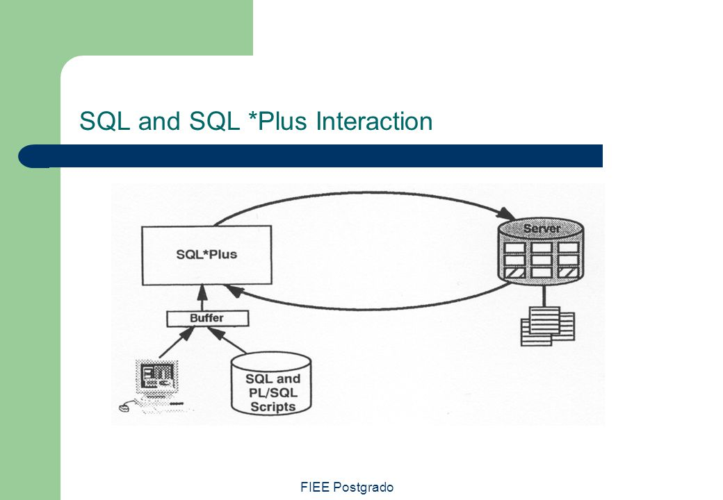 SQL and SQL *Plus Interaction