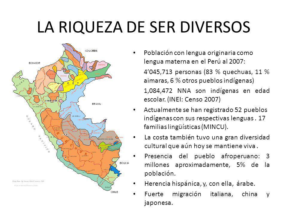 LA RIQUEZA DE SER DIVERSOS