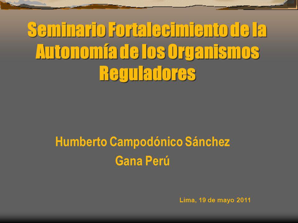 Humberto Campodónico Sánchez Gana Perú