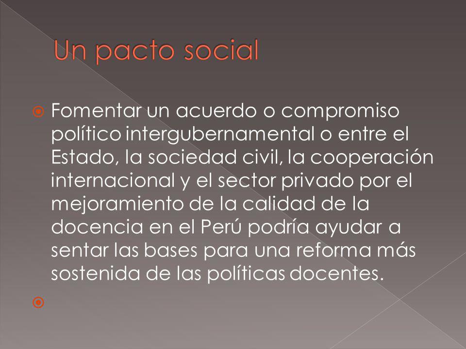 Un pacto social