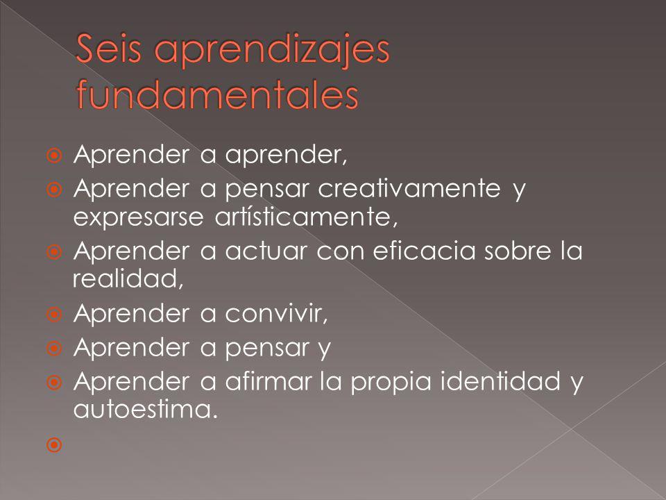 Seis aprendizajes fundamentales