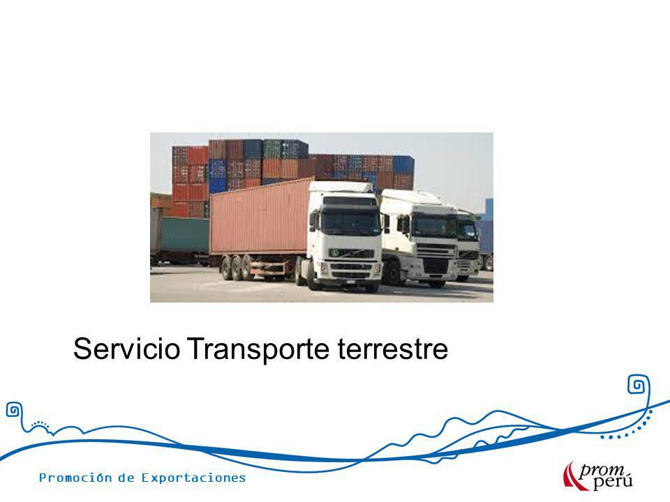 Servicio Transporte terrestre