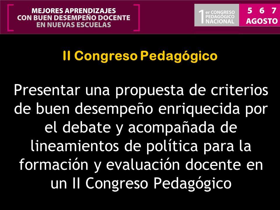 II Congreso Pedagógico