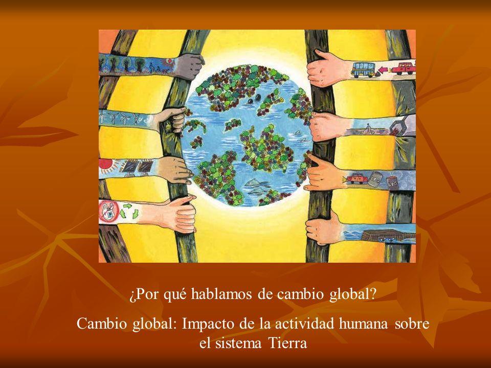 ¿Por qué hablamos de cambio global