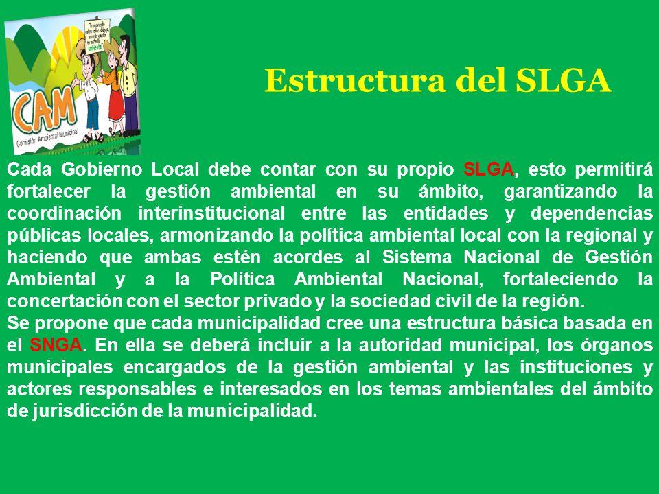 Estructura del SLGA