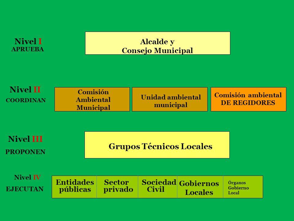 Comisión Ambiental Municipal Unidad ambiental municipal