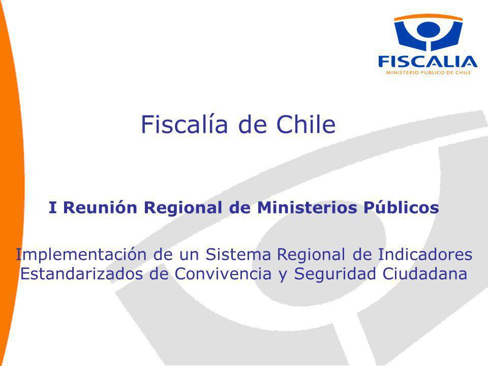 I Reunión Regional de Ministerios Públicos