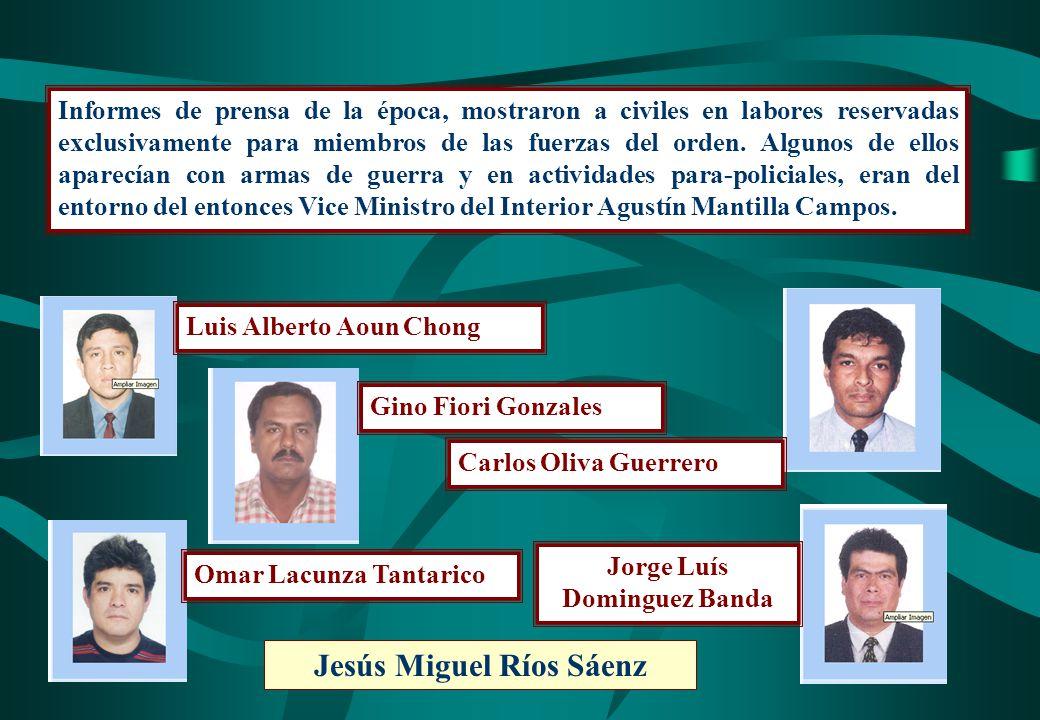 Jorge Luís Dominguez Banda Jesús Miguel Ríos Sáenz