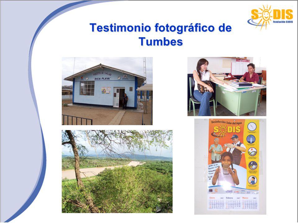 Testimonio fotográfico de Tumbes