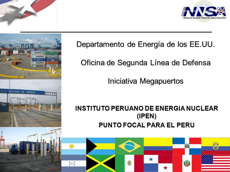 INSTITUTO PERUANO DE ENERGIA NUCLEAR (IPEN) PUNTO FOCAL PARA EL PERU