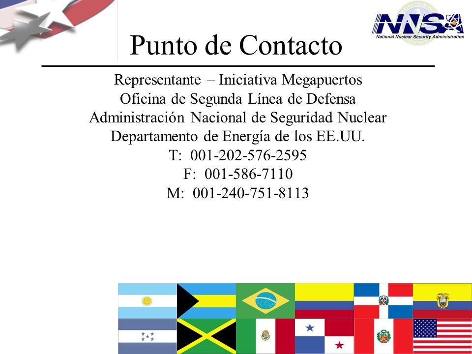 Punto de Contacto Representante – Iniciativa Megapuertos