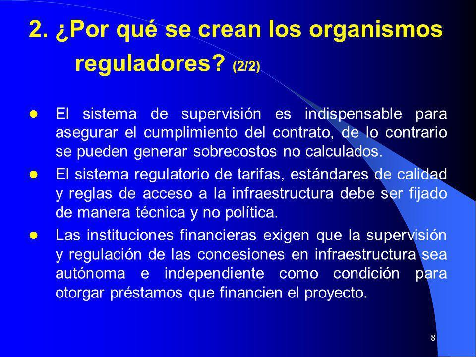 2. ¿Por qué se crean los organismos reguladores (2/2)