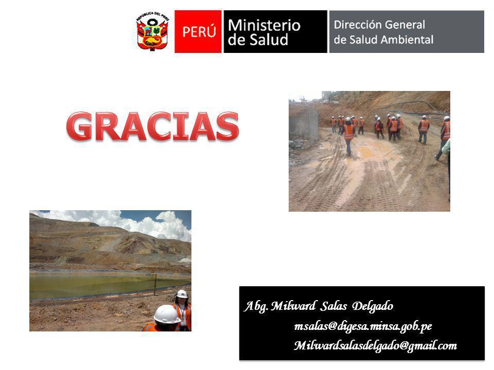 GRACIAS Abg. Milward Salas Delgado msalas@digesa.minsa.gob.pe