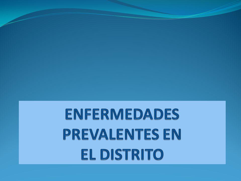 ENFERMEDADES PREVALENTES EN EL DISTRITO