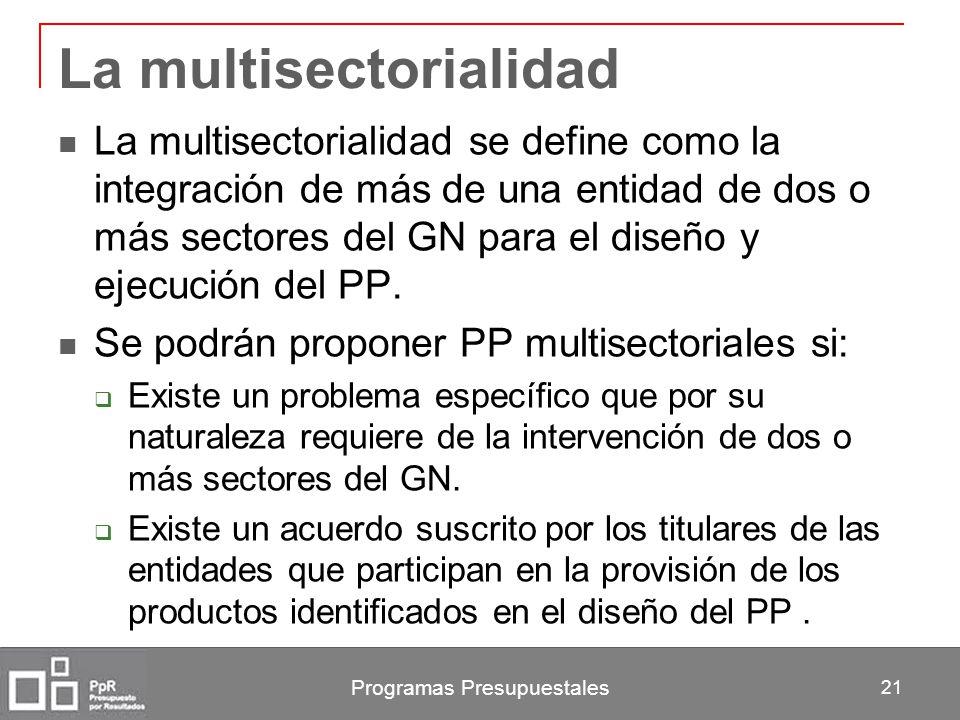 La multisectorialidad