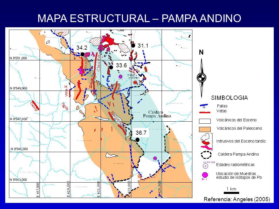 MAPA ESTRUCTURAL – PAMPA ANDINO