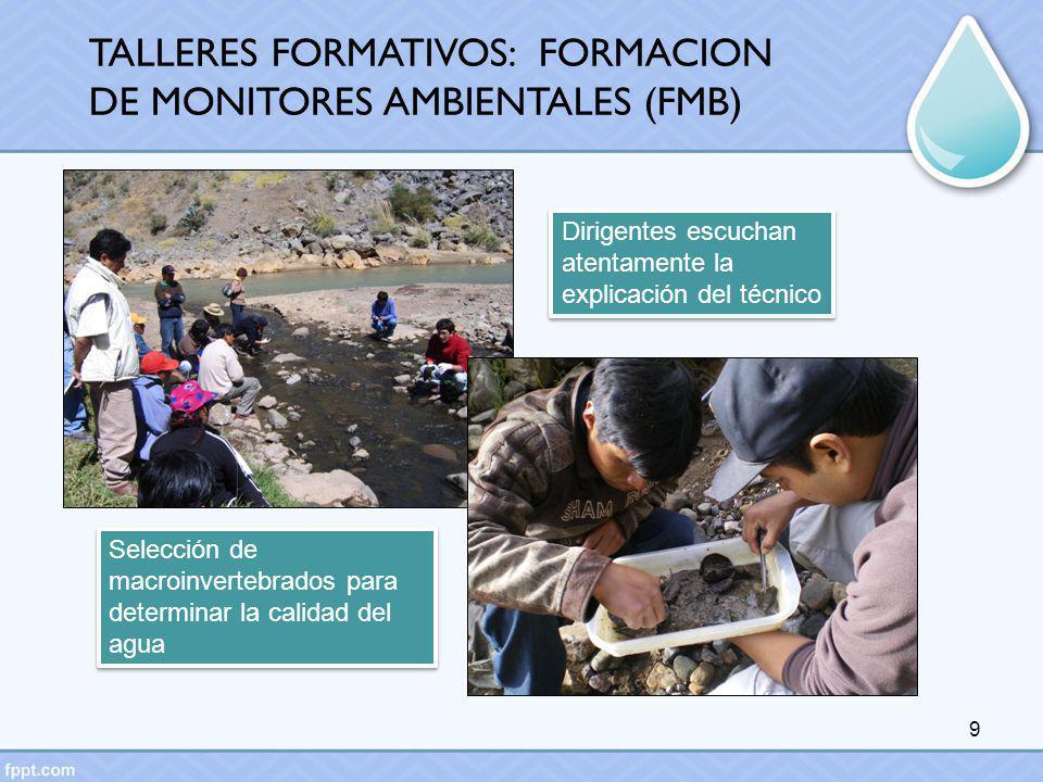 TALLERES FORMATIVOS: FORMACION DE MONITORES AMBIENTALES (FMB)