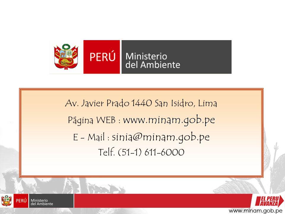 Av. Javier Prado 1440 San Isidro, Lima