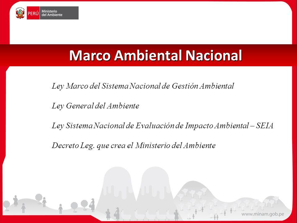 Marco Ambiental Nacional
