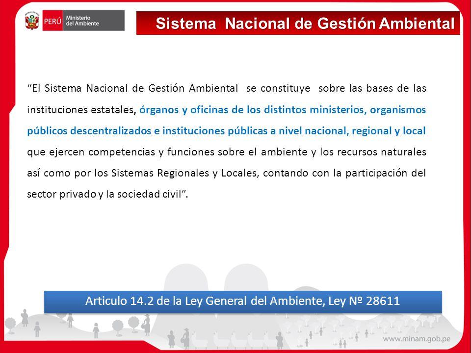 Articulo 14.2 de la Ley General del Ambiente, Ley Nº 28611