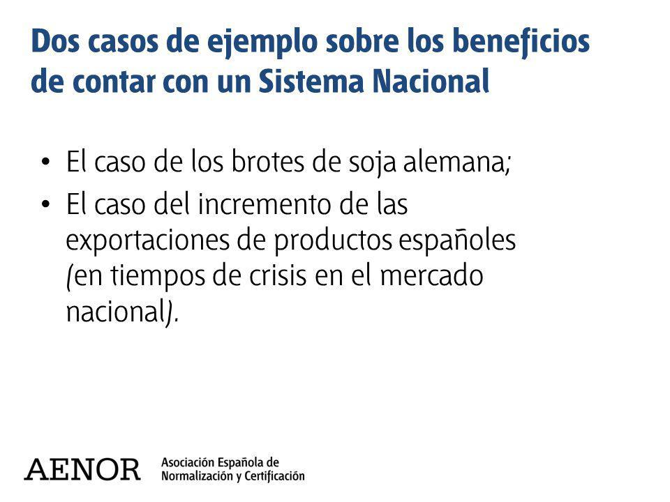 Dos casos de ejemplo sobre los beneficios de contar con un Sistema Nacional