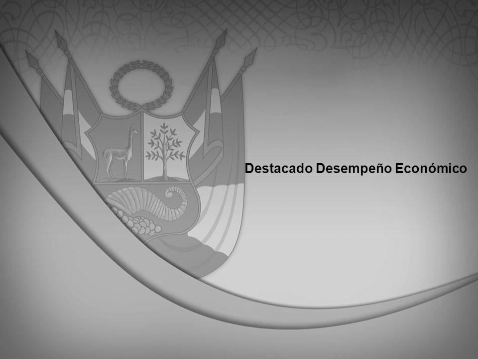 Destacado Desempeño Económico