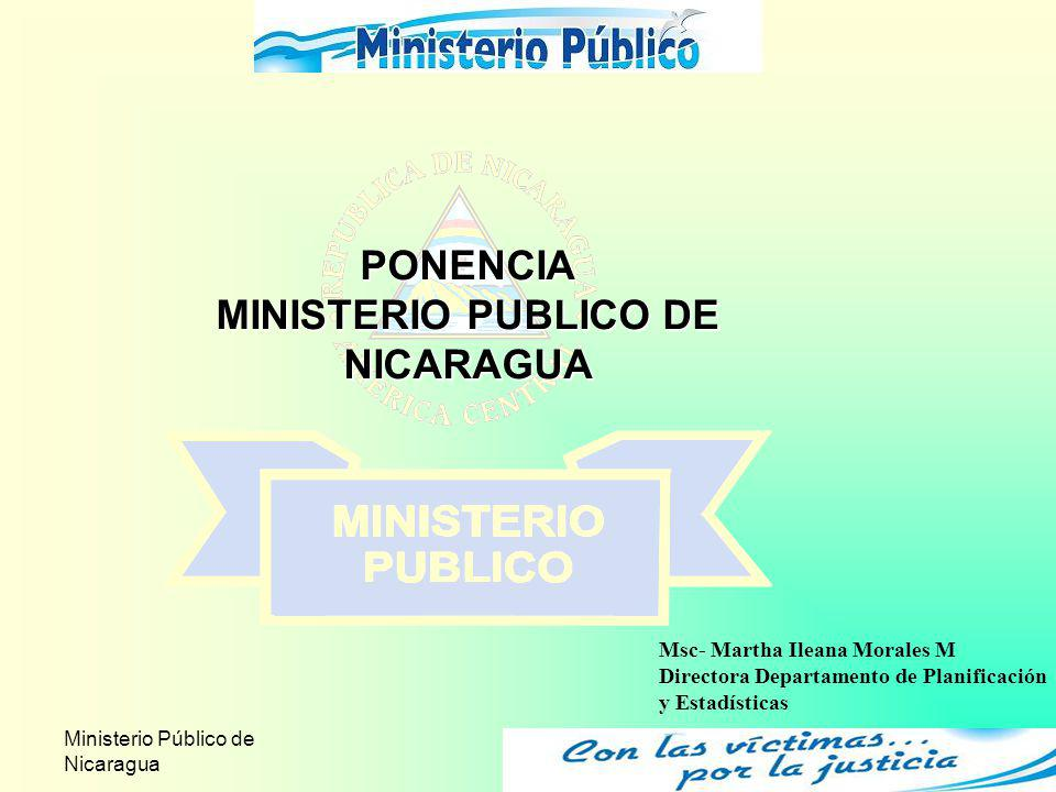 MINISTERIO PUBLICO DE NICARAGUA