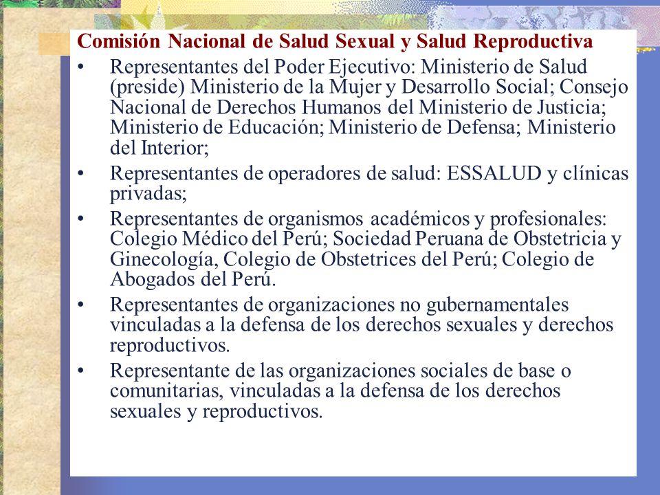 Comisión Nacional de Salud Sexual y Salud Reproductiva