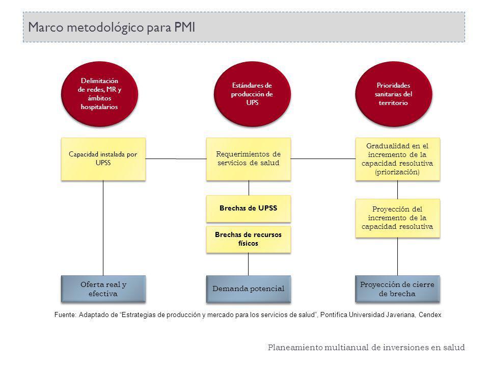 Marco metodológico para PMI