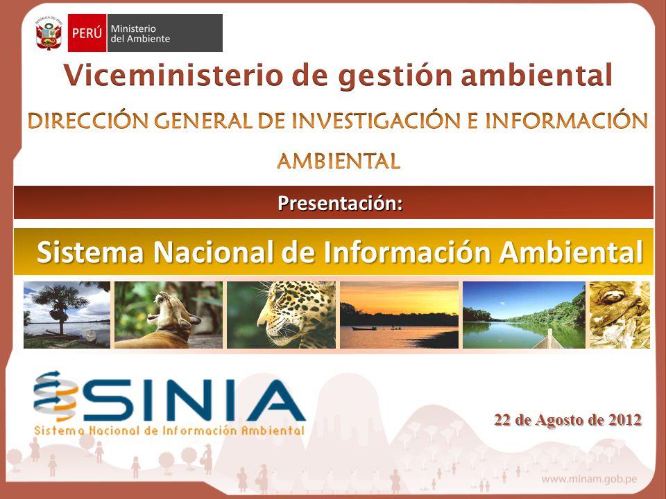 Sistema Nacional de Información Ambiental