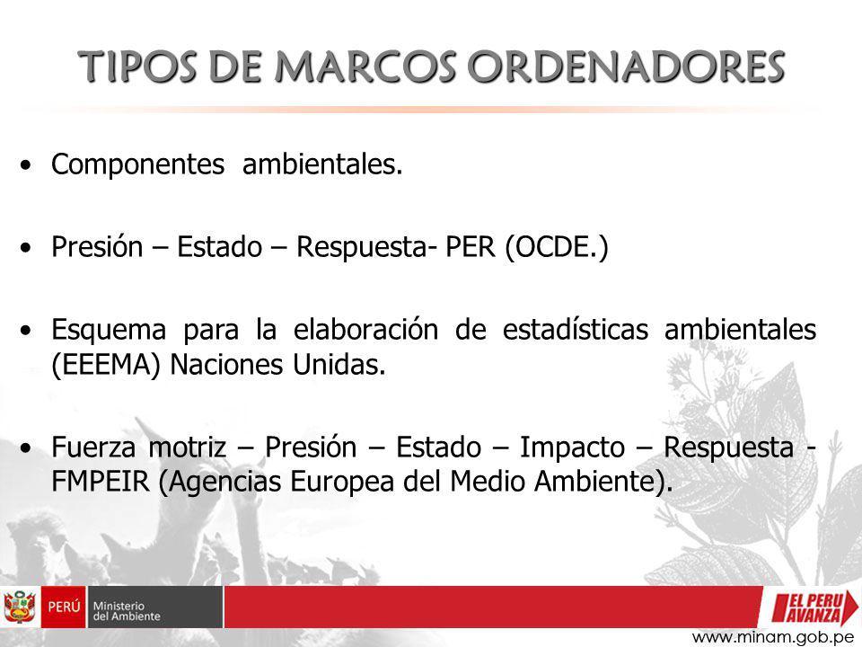 TIPOS DE MARCOS ORDENADORES