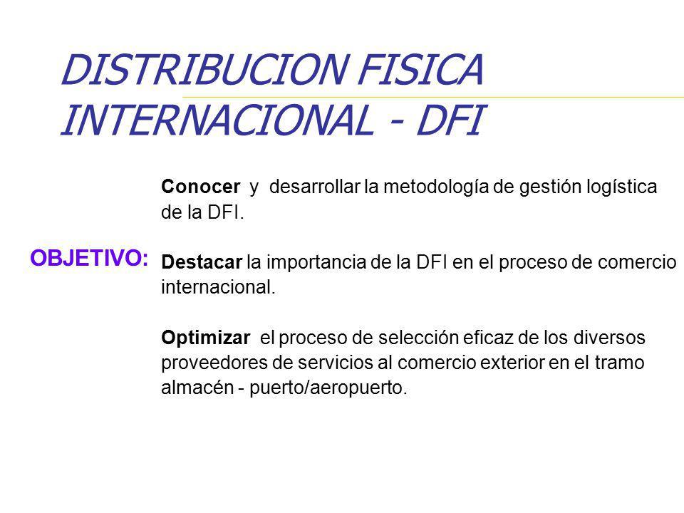 DISTRIBUCION FISICA INTERNACIONAL - DFI
