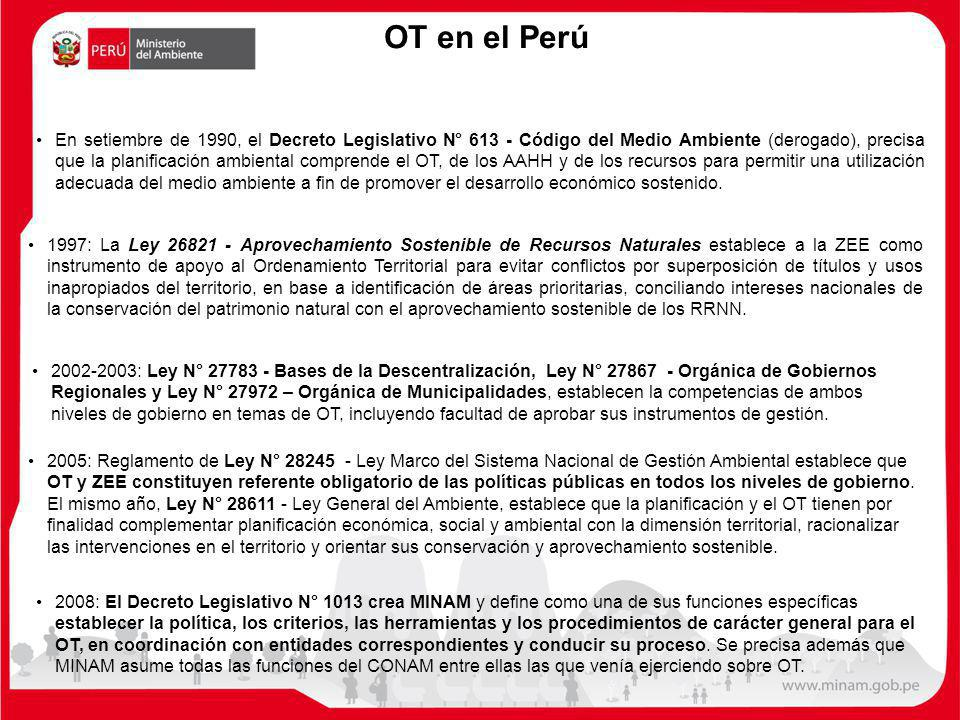 OT en el Perú
