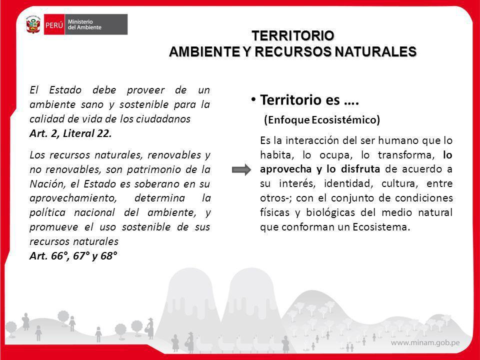 AMBIENTE Y RECURSOS NATURALES