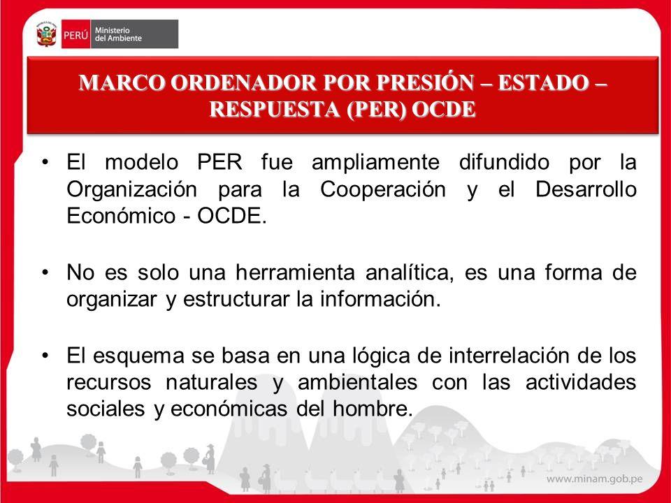 MARCO ORDENADOR POR PRESIÓN – ESTADO – RESPUESTA (PER) OCDE